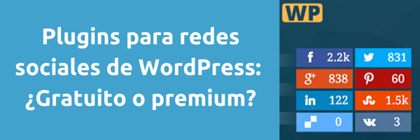 Plugins Redes Sociales WordPress - Portada